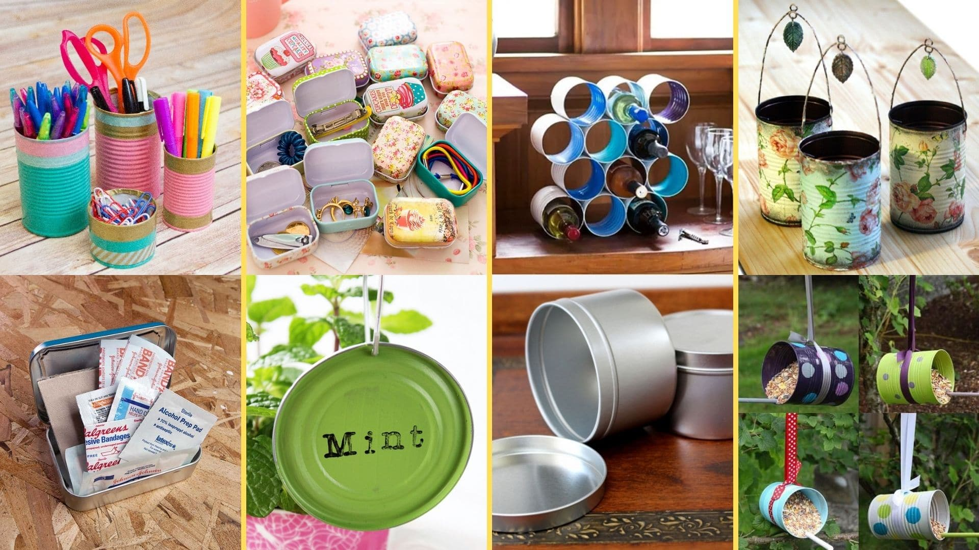 Uses of Tin Containers